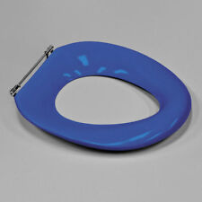 Caroma Colani Care Single Flap Toilet Seat Sorrento Blue rrp$721