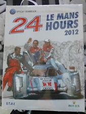 Livre Annuel Les 24 Heures du Mans 2012 (Anglais)
