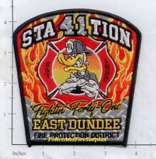 Illinois - East Dundee Station 41 IL Fire Dept Patch - Fightin' Forty One