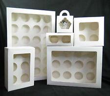 Cupcake Box 1 hole 2 hole 4 hole 6 hole 12 hole 24 hole and mini 12, 24  window