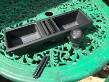 BMW E46 Centre Console Storage Tray Black & Gear Knob SPARES OR REPAIR ONLY