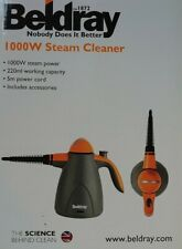 Beldray 1000W Handheld Steam Cleaner with Accessories