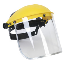 Brow Guard With Full Face Shield - Sealey SSP9E