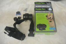 New listing Premier Pet Guardian Wireless Add A Dog Receiver Collar Training Mint