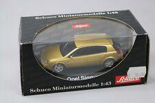 ZC1031 Schuco 04661 Voiture miniature 1/43 Opel Signum Jaune