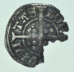 RICHARD II HALFPENNY (1377-1399), LOnDDn MINT, BRITISH SILVER HAMMERED COIN FINE