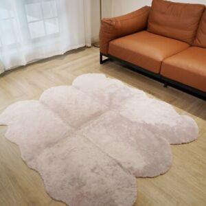 5.2'x4.8' Genuine Natural Fur Australian Sheepskin Rug Home Quilt Sofa Mat