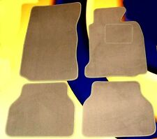 BMW E60 5 SERIES 03-10 ALL MODELS AUTO. G/BOX BEIGE CAR FLOOR MATS WITH 4 x PADS