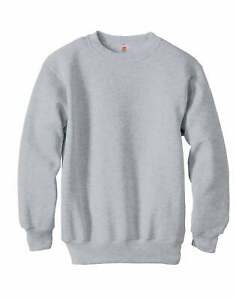 Hanes Boys Girls Crewneck Sweatshirt ComfortBlend EcoSmart Kids Youth Low Pill