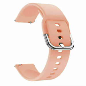 Galaxy Watch Active Replacement Soft Silicone Sport Band Strap 20mm 22mm