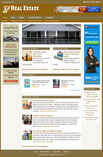 REAL ESTATE GUIDE - Professionally Designed Affiliate Website- Free Installation