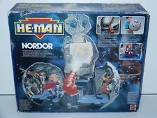 MOTU NEW ADVENTURES OF HE-MAN NORDOR 100% COMPLETE IN BOX MIB 1990 MATTEL