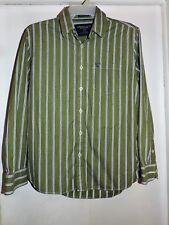 American Eagle Outfitters Men's L/S Button Front Shirt Large Vintage Fit EUC