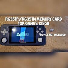 Anbernic RG351P/RG351M Handheld 128gb Memory Card only - 10K Retro games CFW