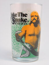 WWF World Wrestling Federation '88 Titan Sports Glass Jake the Snake Roberts