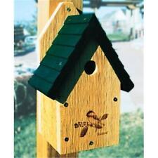 WoodLink Gswch Garden Wren-Chickadee House- 1.13 in. Hole Size
