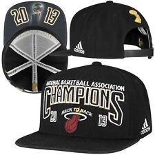Miami Heat adidas 2013 NBA Champions Official Locker Room Cap Hat - Adjustable