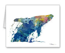 Humpback Whale Note Cards With Envelopes
