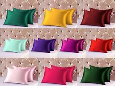 Soft And Comfortable Silky Ossum Cusion Case Satin Pillow Case/ Cushin Cover S23