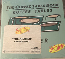 Culturefly Exclusive Seinfeld Coffee Table Book of Coffee Tables Notebook NEW