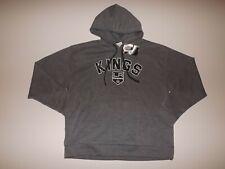 NHL Official Los Angeles Kings Gray Hoodie Sweatshirt Pullover XL NWT
