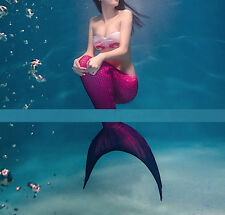 Costume Coda Sirena Girl and Woman Swimsuit Mermaid Tail Mare Piscina SMZ012 P