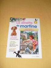 La Dinette de MARTINE fascicule N°5
