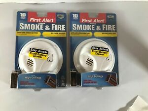 First Alert Smoke and Fire Alarm SA303CN (2 Pack) New