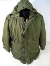 Korea War US Army Extreme Cold Weather M1951 Fishtail Parka w/Liner- Dated 1953