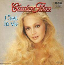 """Charlene Tilton (Dallas TV-Star)- C'est La Vie (7"""" Vinyl-Single Germany 1984)"""