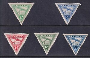 LATVIA STAMP AIRMAIL MH/OG STAMPS COLLECTION LOT