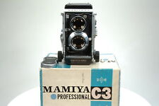 Mamiya C3 TLR Camera w/ f2.8 80mm Lens. Boxed!. Graded: EXC+ [#8904]