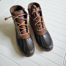 NEW Sperry Women's Gulf Duck Boot - Brown, Women Size 9  $130