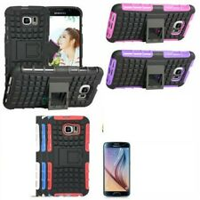 500x Wholesale Samsung Galaxy S6 Cases With Kickstand Multiple Colors
