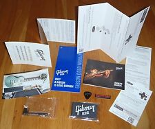 Gibson Les Paul Classic Case Candy Manual Warranty Wrench Cloth Guitar Parts HP