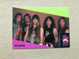1 Iron Maiden trading card