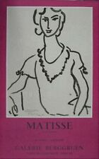 Henri Matisse Original Poster Dessins Au Princeau Mourlot 1983 Rare