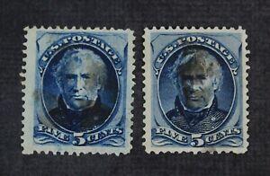 CKStamps: US Stamps Collection Scott#179 5c Taylor Used Large Margins