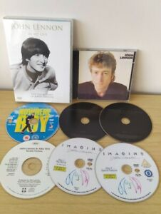 John Lennon 3x CD Albums, 3x DVD In my life, collection, Imagine, working class