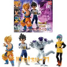 HG Dragon Ball Super 03 Goku Vegeta Bulma Freeza 4 figures set BANDAI Gashapon