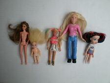 Polly Pocket Mattel BRATZ MINI barbie high school musical TYCO PICCOLA BAMBOLA LOTTO