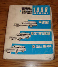 1990 Chevrolet Caprice Custom Cruiser Estate Wagon Shop Service Manual 90