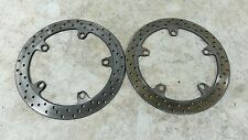 04 BMW R 1150 RT R1150 R1150rt front brake rotors disks