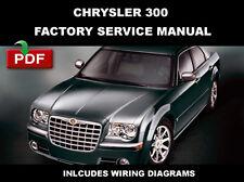 CHRYSLER 300 2005 - 2009 LIMITED TOURING SRT-8 SERVICE REPAIR WORKSHOP MANUAL