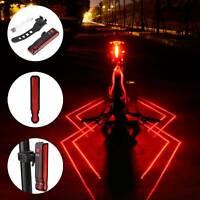 Wiederaufladbare LED Mountainbike Fahrrad Vorne Hinten Rücklicht Set Wasserdicht