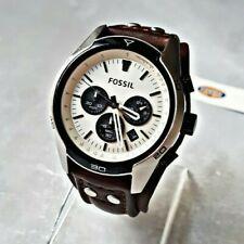 Fossil Herrenuhr Uhr Armbanduhr Chronograph Edelstahl