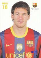 MESSI + FC BARCELONA + Riesenfoto + 21x30 cm + Lizenz + NEU + Signet + RAR +