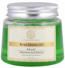 Khadi Natural 100 % pure  Aloe Vera Gel, Green 200g pack with free shipping