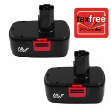 2x for Craftsman DieHard C3 19.2V NiCd Battery Craftsman 11375 11376 130279017