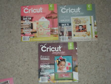 LOT OF 3 BACK ISSUES 5TH ANNIVERSARY CRICUT MAGAZINES-APR/MAY--AUG--SEPT 2011